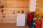 Газовое отопление с применением настенных двухконтурных котлов