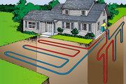 Геотермальный обогрев дома